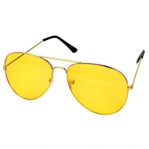 Gafas de Visión Nocturna para Hombres y Mujeres Lentes Amarillas [1]