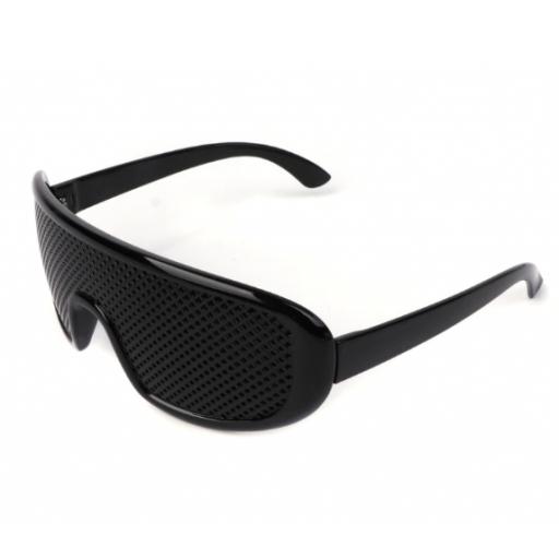 Gafas reticulares de agujero Piramidal - Yoga ocular [1]