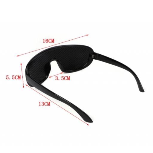 Gafas reticulares de agujero Piramidal - Yoga ocular [3]