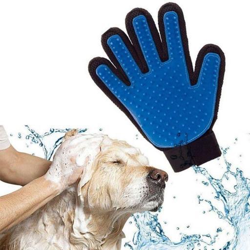 Guante Cepillo De Perro Gato para Peine en Mascotas Baño [1]