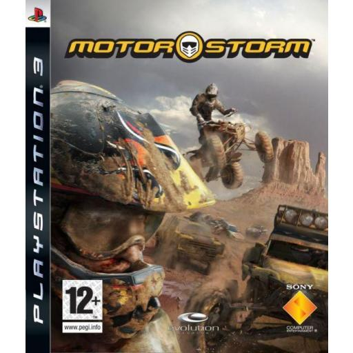 MOTOR STORM PS3 PLAYSTATION 3! JUEGO PAL CASTELLANO
