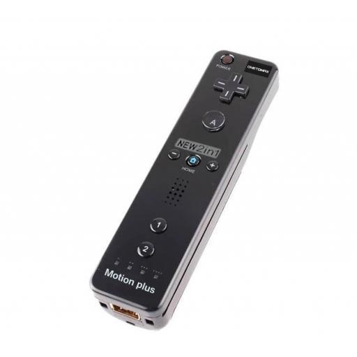 Mando de Nintendo Wii Remote con Motion Plus Integrado Inalámbrico [2]