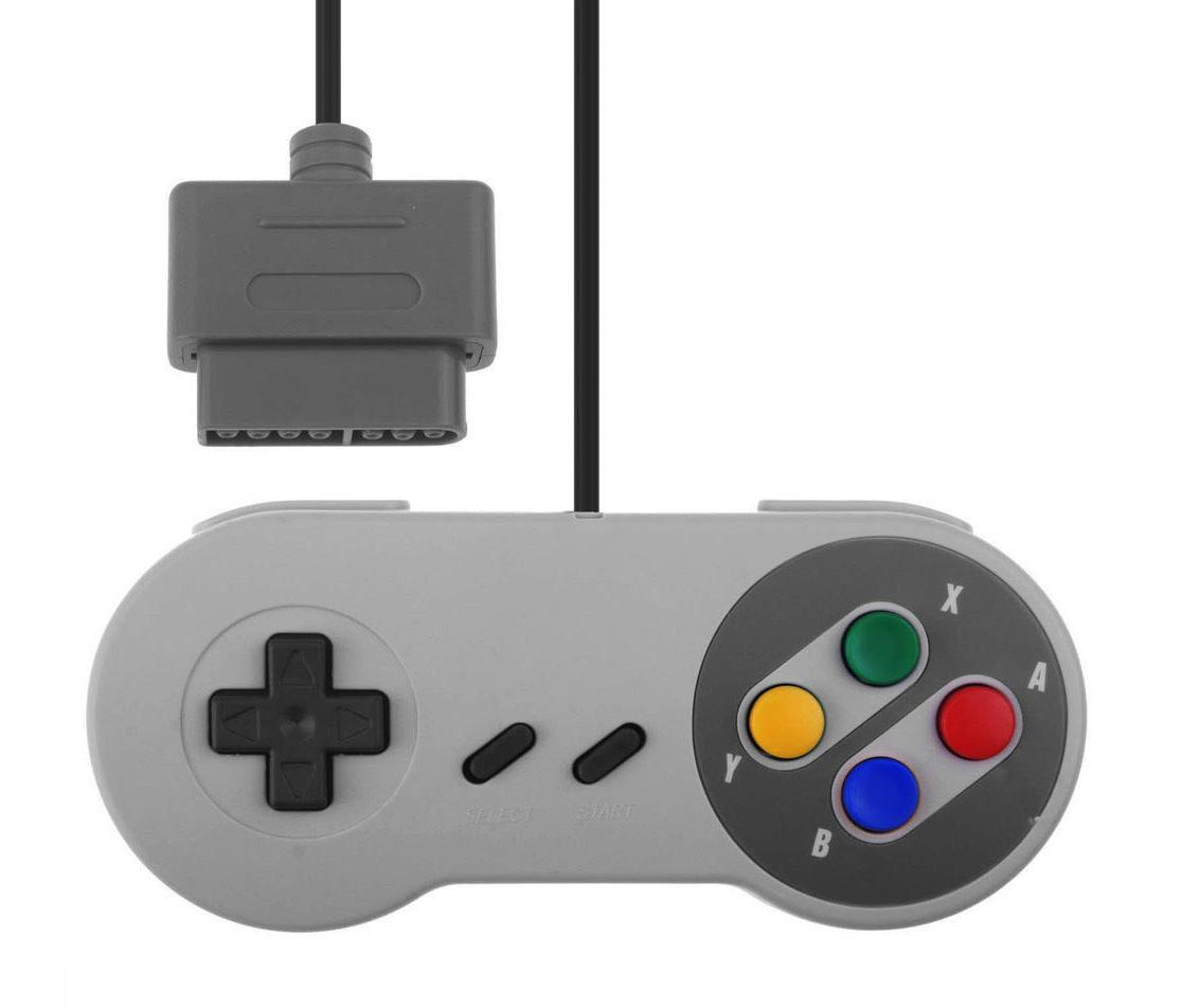 Mando de Super Nintendo Classic (SNES) Conector Original