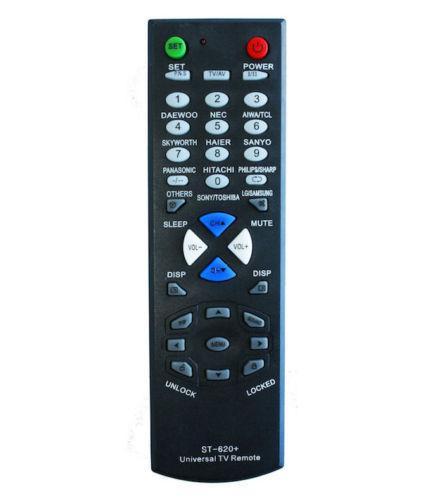 Mando universal de TV ST-620 p/ Toshiba Hitachi Samsung LG y Otros