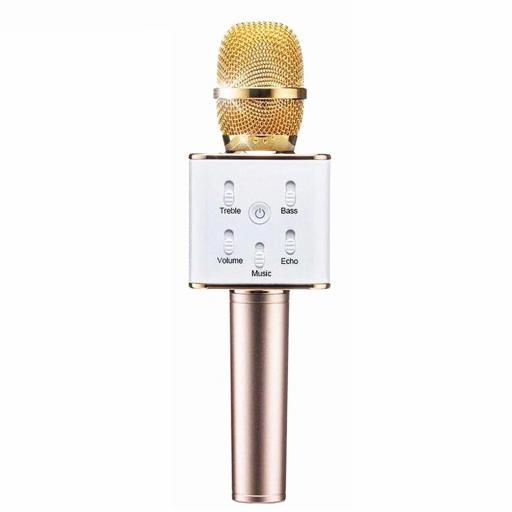 Micrófono Karaoke Inalámbrico Bluetooth Manos Libres [3]
