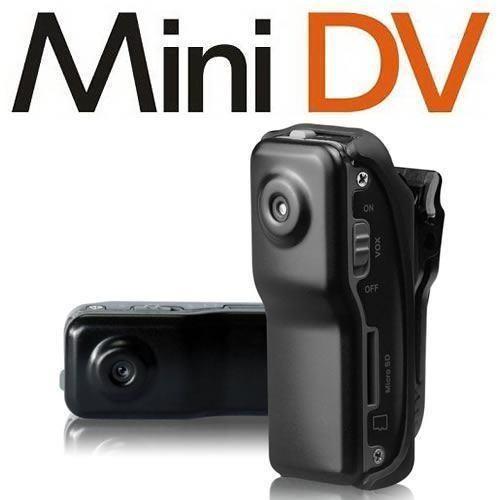 Mini Camara Espia y Deportes Casco DV MD80 Con Sensor de Sonido