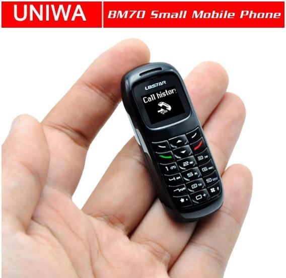 Mini Móvil Desbloqueado Bluetooth - El más pequeño del Mundo
