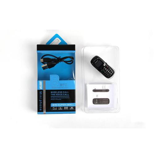 Mini Móvil Desbloqueado Bluetooth - El más pequeño del Mundo [3]