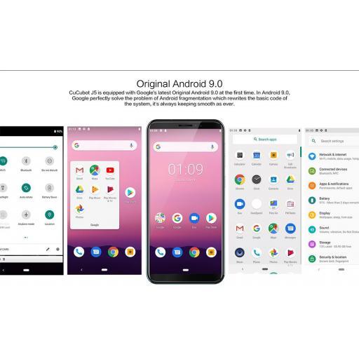¡Móvil Android Barato! Cubot J5 Quad Core 16GB Dual Sim [3]