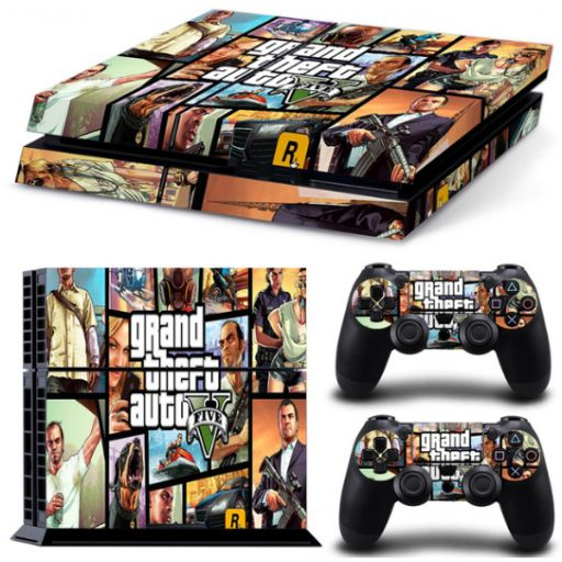 Pegatina GTA 5 Playstation 4 / PS4 / Play 4 Grand Theft Auto V