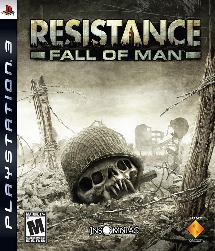 RESISTANCE FALL OF MAN PS3 PLAYSTATION 3! JUEGO PAL CASTELLANO