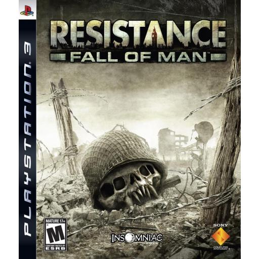 RESISTANCE FALL OF MAN PS3 PLAYSTATION 3! JUEGO PAL CASTELLANO