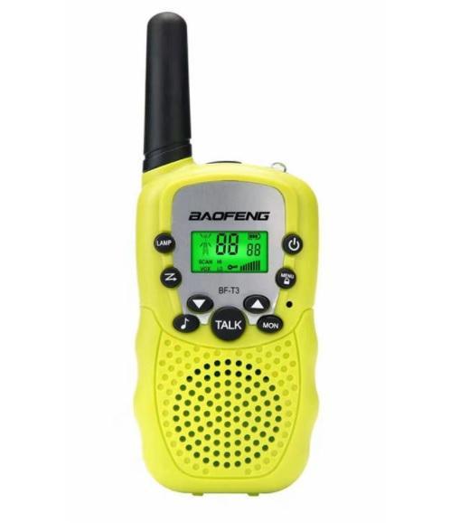 Radio Walkie Talkie 22 Canales Transceptor De Radio Baofeng Bf-T3