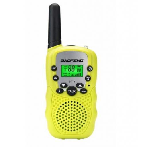 Radio Walkie Talkie 22 Canales Transceptor De Radio Baofeng Bf-T3 [0]