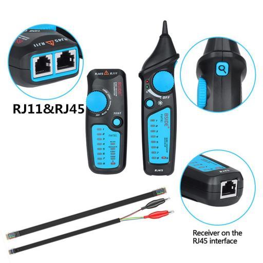 Rastreador de Cable Telefónico Red / LAN / Ethernet Buscador FWT81 [1]