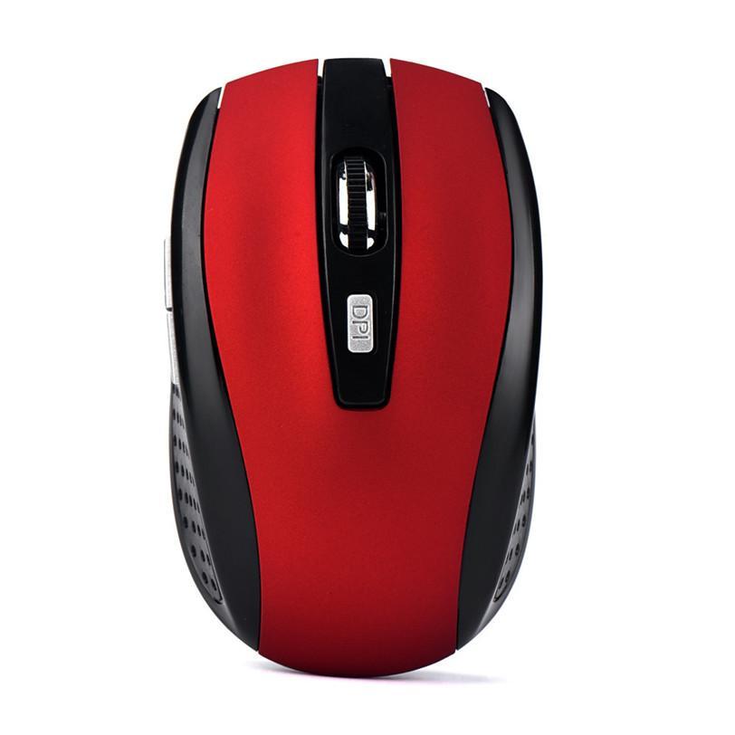 Ratón Inalámbrico Óptico Sin Cables Receptor 2.4Ghz 6 Botones