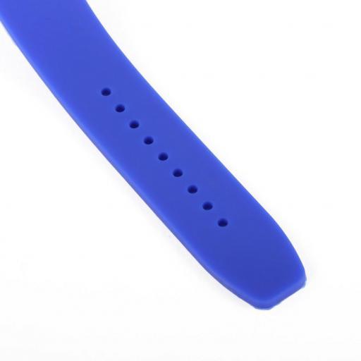 Reloj Bandera de Colombia Azul Casual Unisex Pulsera Silicona [3]