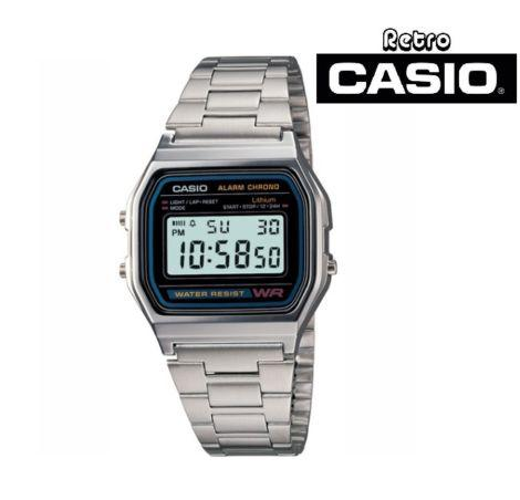 Reloj Casio A158Wa Retro Vintage Unisex 100% Original