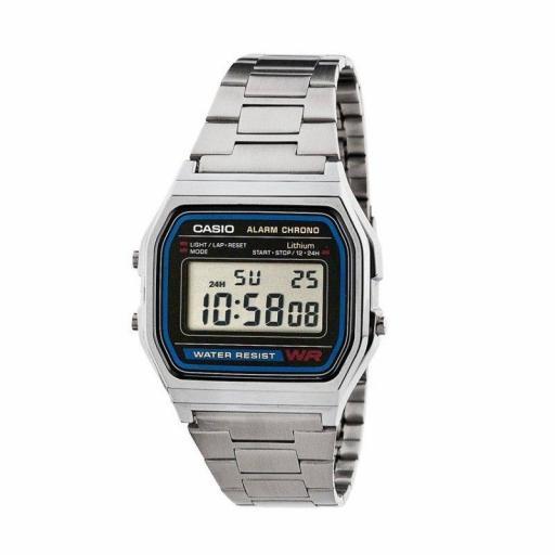 Reloj Casio A158Wa Retro Vintage Unisex 100% Original [1]