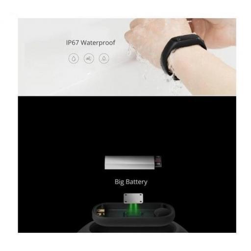 Reloj Inteligente Xiaomi Mi Band 2 Smart Watch Pulsometro [2]