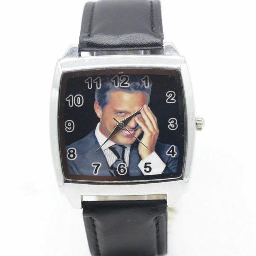 Reloj Luis Miguel de cuero Analógico | Comprar en España