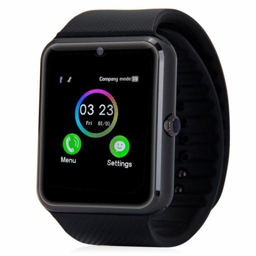 Reloj Móvil Inteligente con WhatsApp Bluetooth - Android iOS [0]