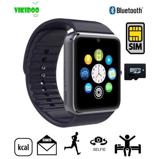 Reloj Móvil Inteligente con WhatsApp Bluetooth - Android iOS [2]