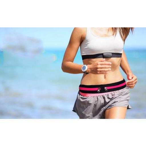 Riñonera para Correr Deportiva Impermeable bolso fitness [3]