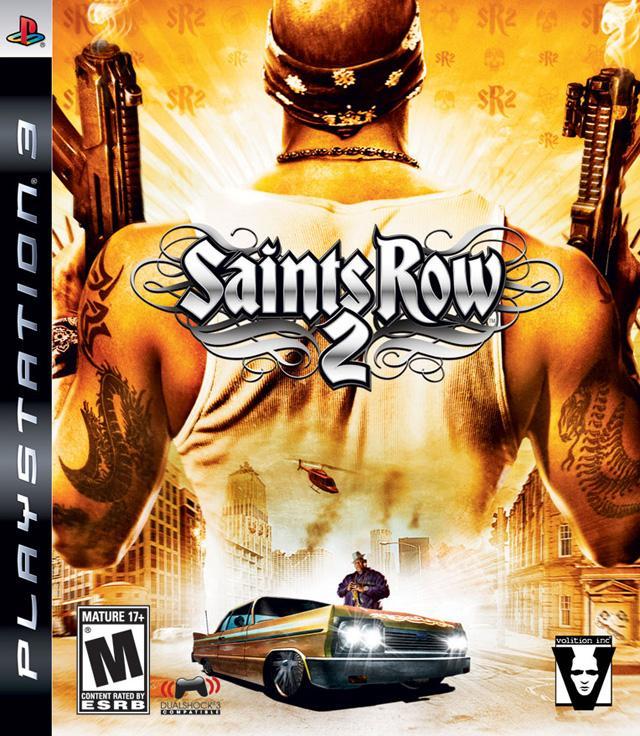 SAINTS ROW 2 PLAYSTATION 3 PS3! JUEGO COMPLETO EN CASTELLANO