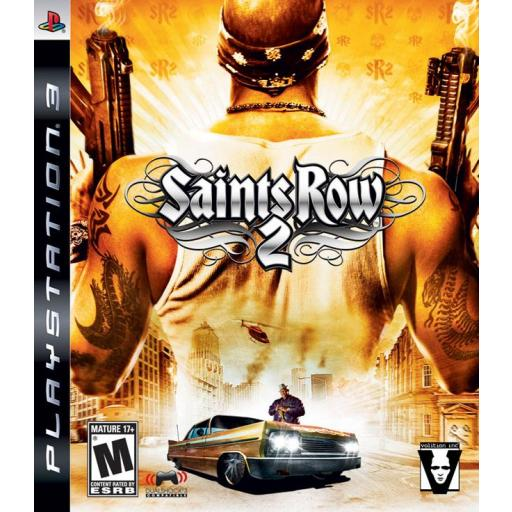 SAINTS ROW 2 PLAYSTATION 3 PS3! JUEGO COMPLETO EN CASTELLANO