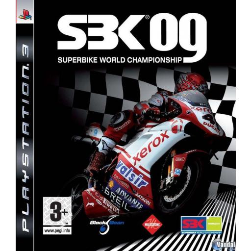 SBK 09 SUPERBIKE WORLD CHAMPIONSHIP PS3 PLAYSTATION 3! PAL CASTELLANO