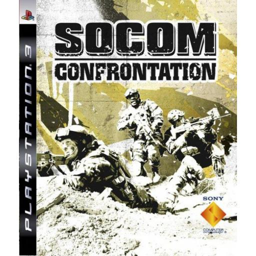 SOCOM CONFRONTATION PS3 PLAYSTATION 3! JUEGO PAL CASTELLANO