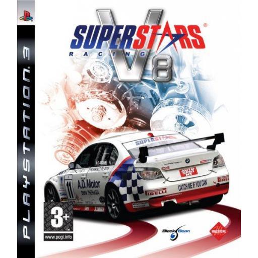 SUPERSTARS V8 RACING PS3 PLAYSTATION 3! JUEGO PAL