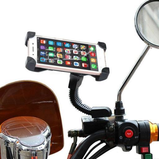 Soporte Móvil para Moto / Motocicleta base retrovisor [0]