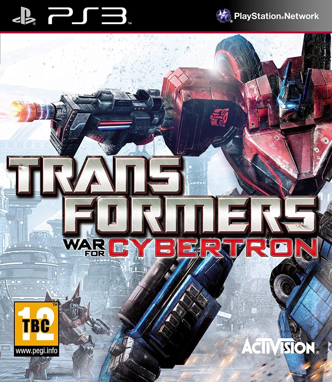 TRANSFORMERS LA GUERRA POR CYBERTRON PS3 PLAYSTATION 3! PAL CASTELLANO