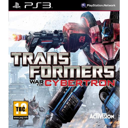 TRANSFORMERS LA GUERRA POR CYBERTRON PS3 PLAYSTATION 3! PAL CASTELLANO