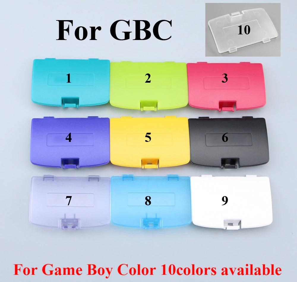 Tapa pilas Game Boy Color | blanco, azul, amarillo, negro y más
