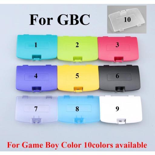 Tapa pilas Game Boy Color | blanco, azul, amarillo, negro y más [0]