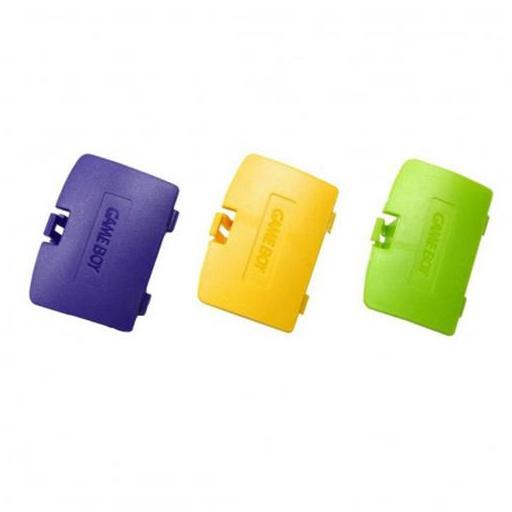 Tapa pilas Game Boy Color | blanco, azul, amarillo, negro y más [2]