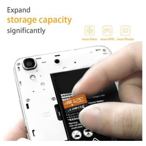 Tarjeta Micro SD De 64GB Clase 10 Memoria 3.0 Resistente Al Agua [2]