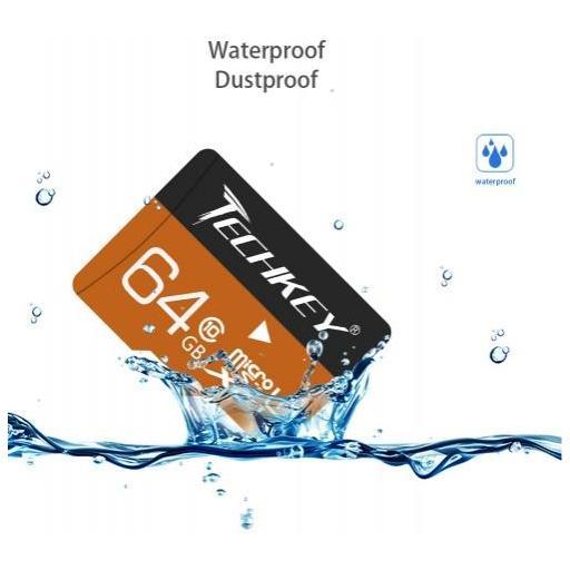 Tarjeta Micro SD De 64GB Clase 10 Memoria 3.0 Resistente Al Agua [1]