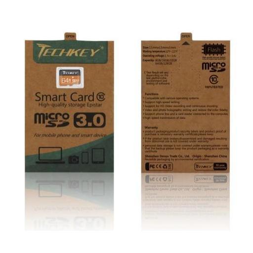 Tarjeta Micro SD De 64GB Clase 10 Memoria 3.0 Resistente Al Agua [3]