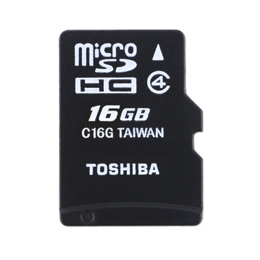 Tarjeta de Memoria de 16GB MicroSDHC Original Toshiba