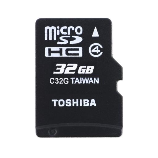 Tarjeta de Memoria de 32GB MicroSDHC Original Toshiba
