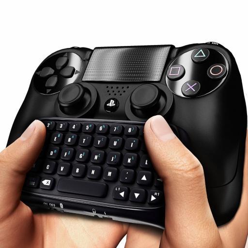 Teclado para Mando de PS4 Playstation 4 Bluetooth Inalámbrico