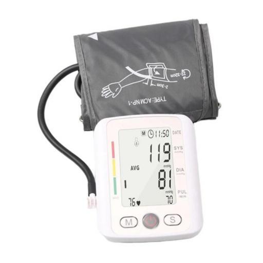 Tensiómetro de brazo digital | Monitor de presión arterial