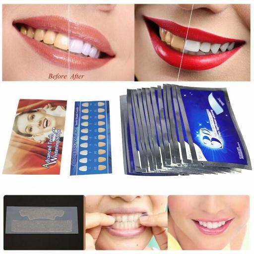Tiras Blanqueadoras de dientes 3D White   dental dientes [3]