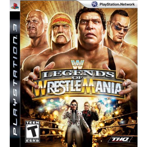 WWE LEGENDS OF WRESTLEMANIA PS3 PLAYSTATION 3! JUEGO PAL CASTELLANO