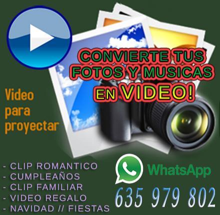 Vídeo Montaje Edición Personalizada Editor Vídeos