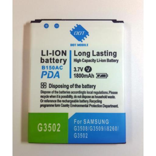 Batería De Samsung Galaxy Core i8260, i8262, G3502 y Otros [2]
